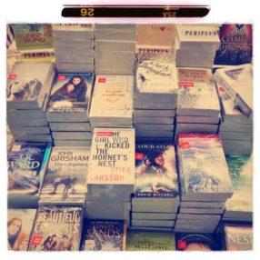 книги в аэропорту