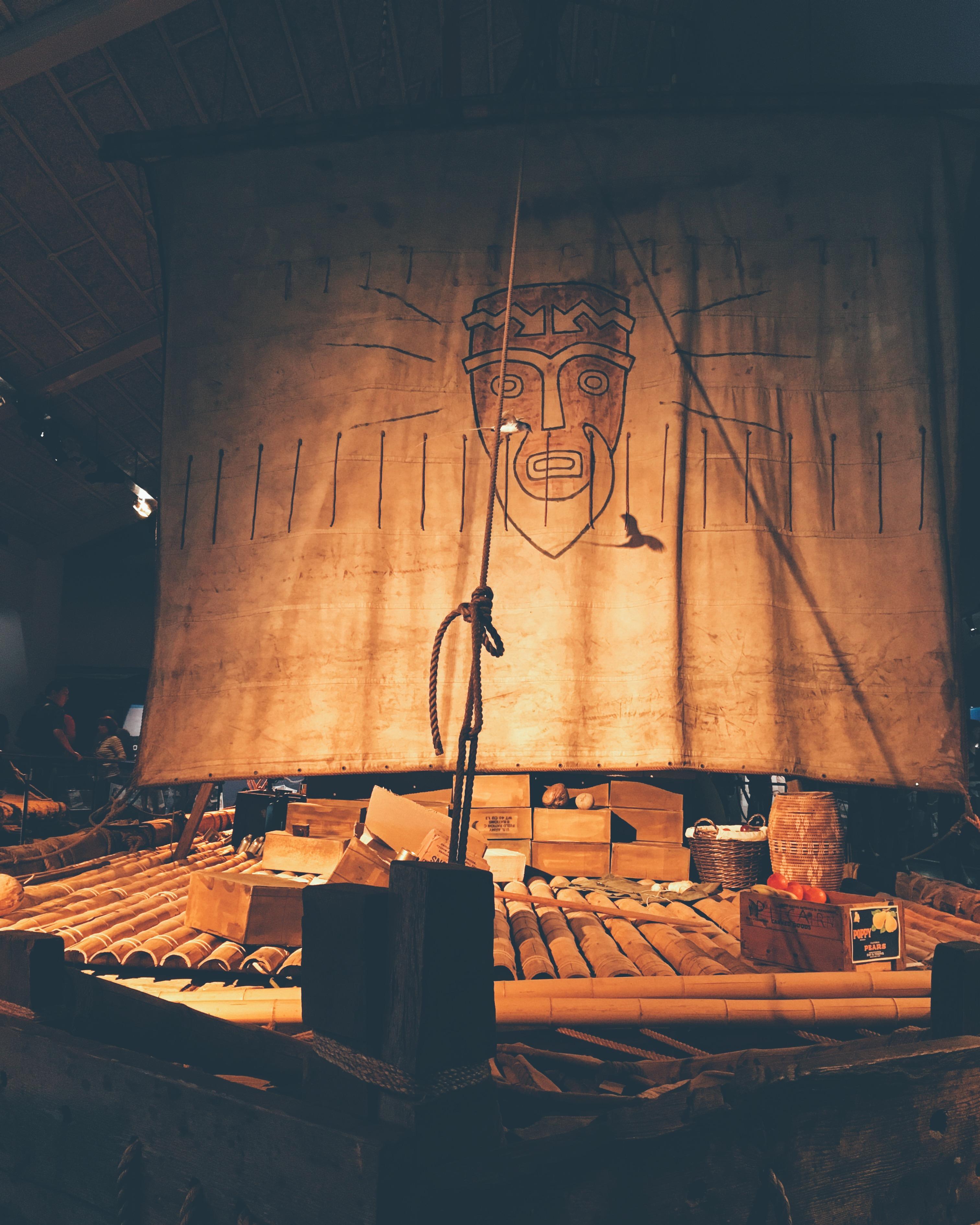 В музее Кон-Тики, август 2016